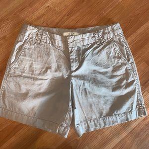 3/$15 LOFT | Khaki Cotton Shorts